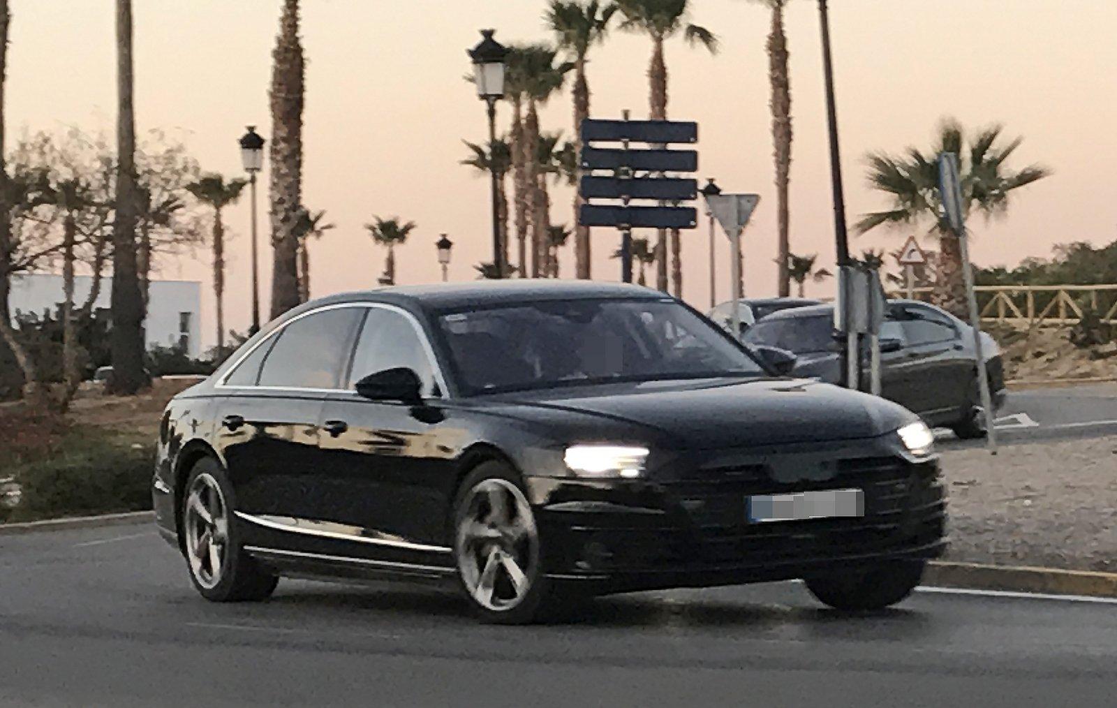 2018 Audi A8a