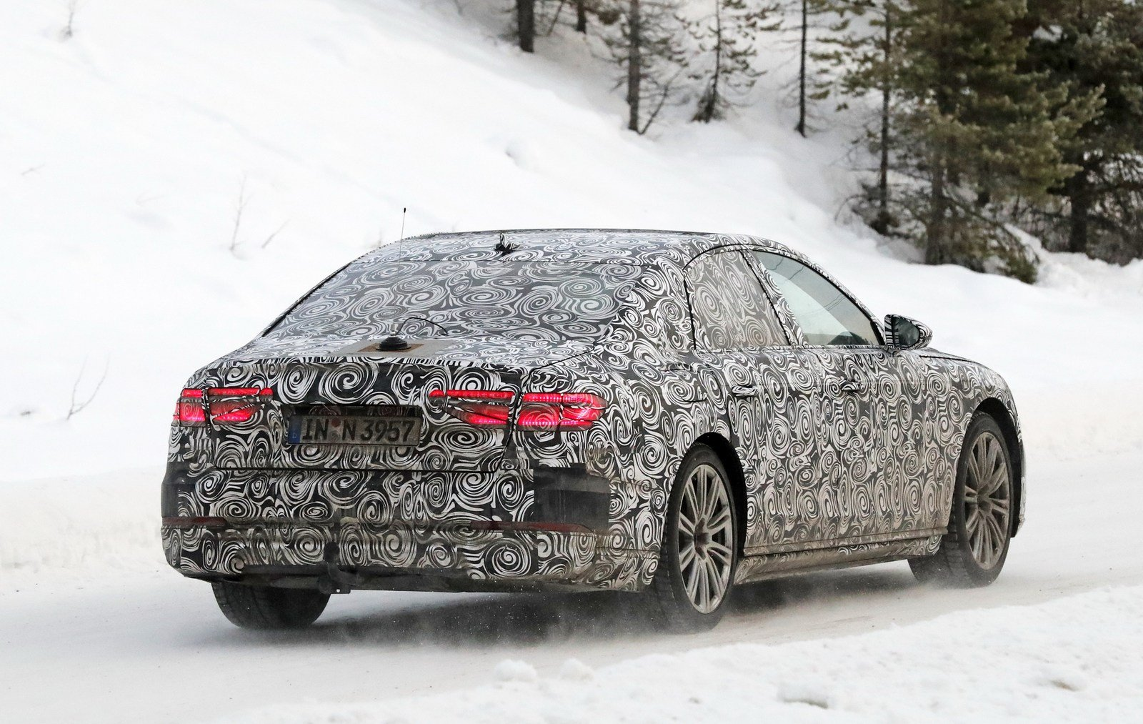 2018 Audi A8c