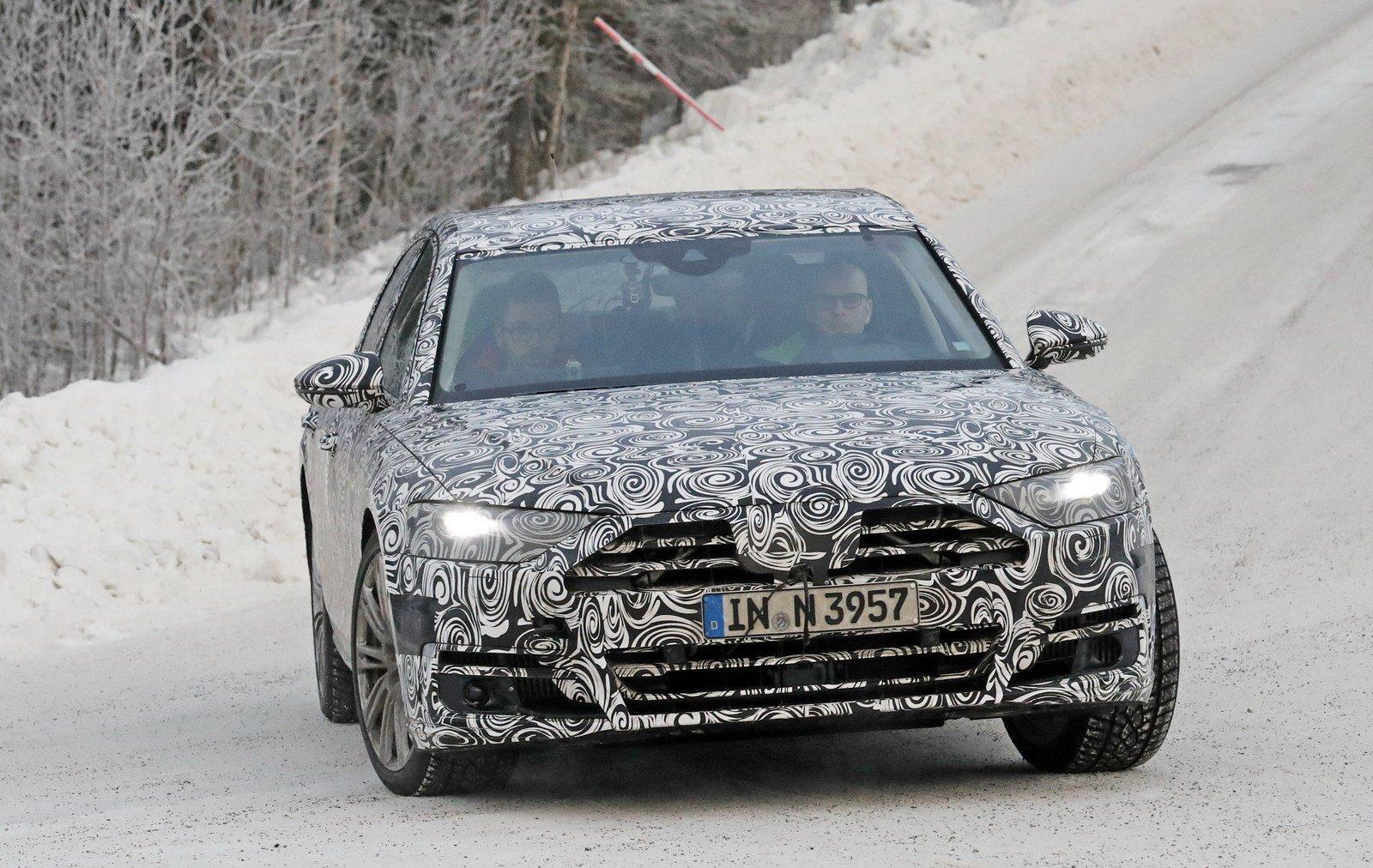 2018 Audi A8f