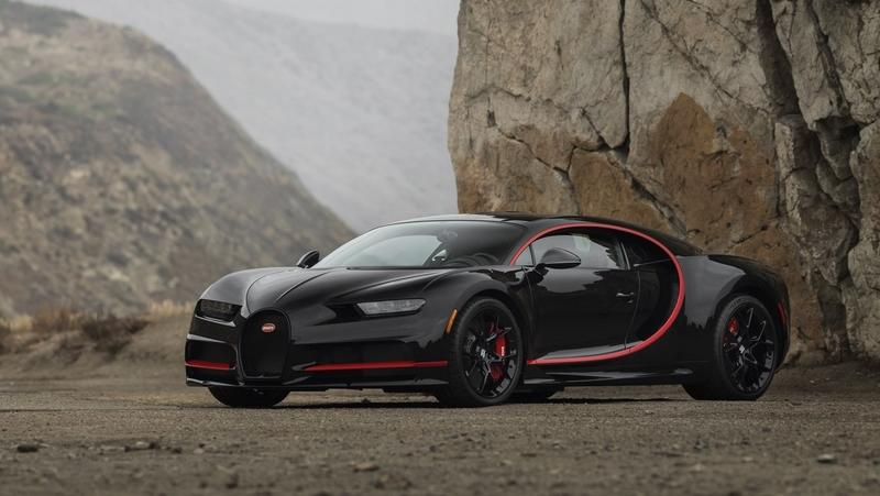2018 Bugatti Chiron Number One