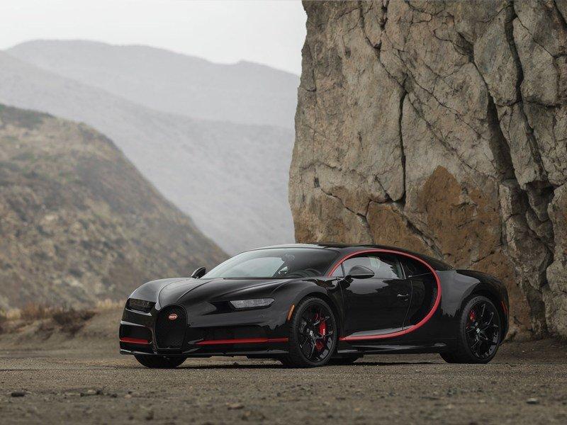 2018 Bugatti Chiron Number One2