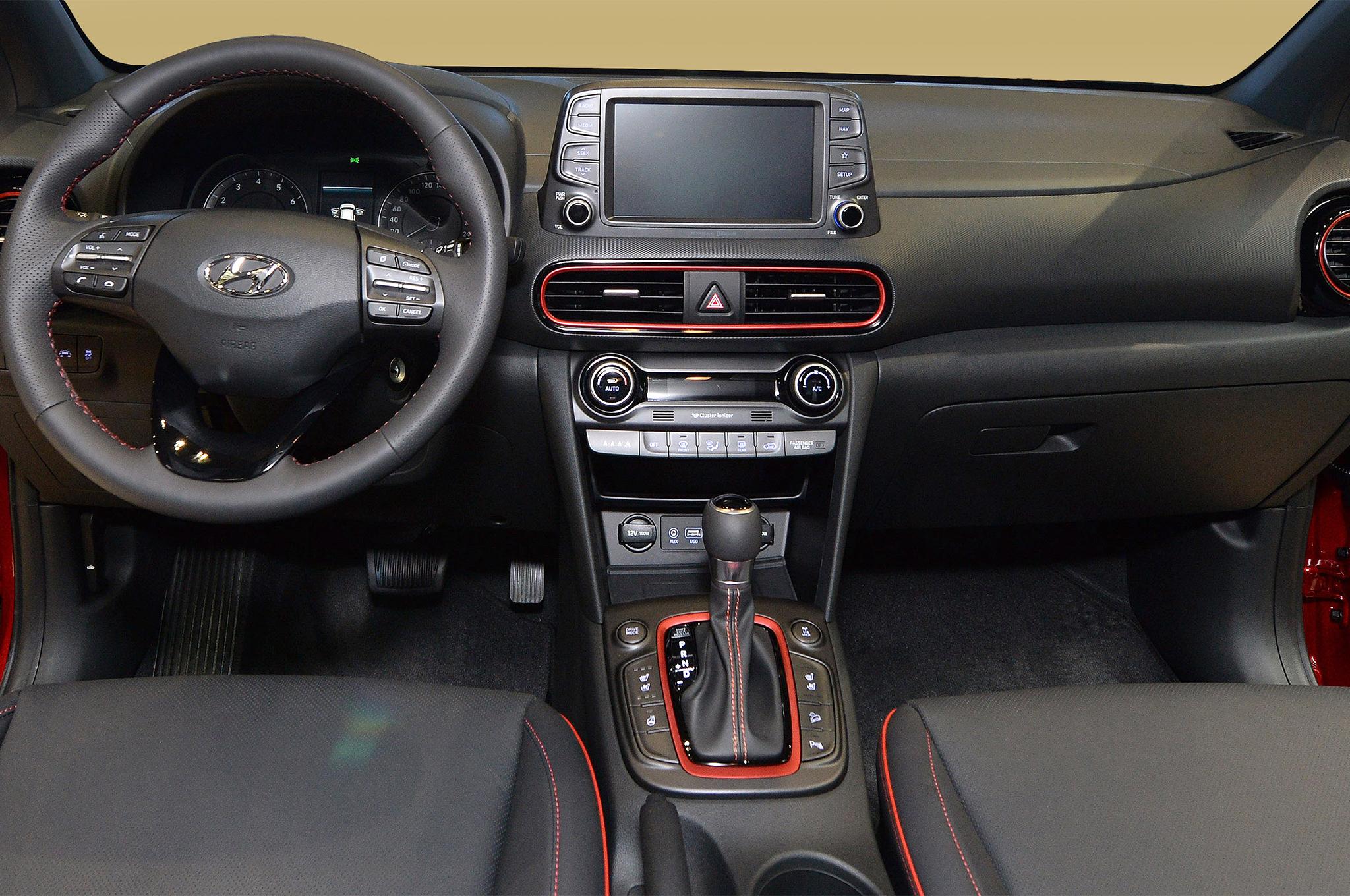 2018 Hyundai Kona Price Specs Interior Design