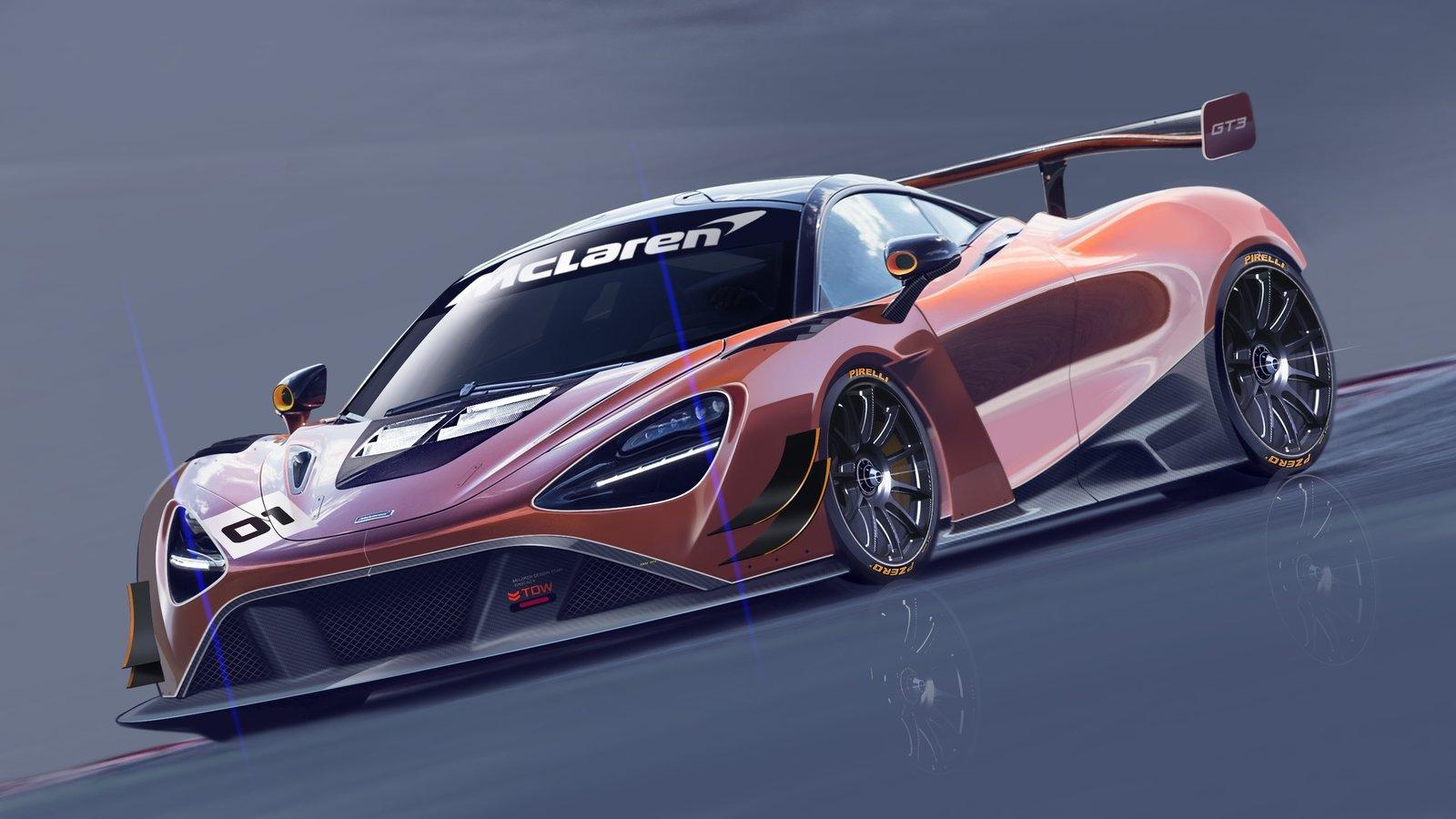 2019 McLaren 720S GT3