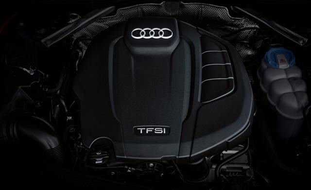 2017 Audi S5 Coupe engine