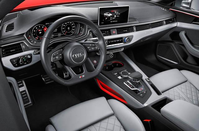 2017 Audi S5 Coupe Interior