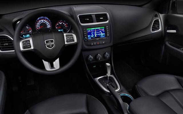 2017 Dodge Avenger Interior