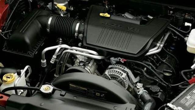 2017 Dodge Dakota Engine