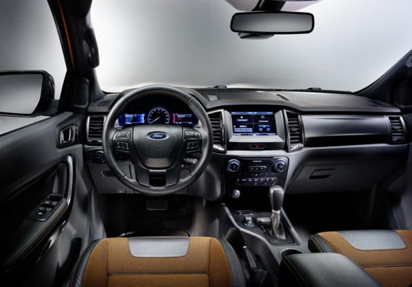 2017 Ford Ranger Interior