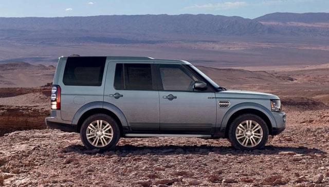 2017 Land Rover LR4 Exterior