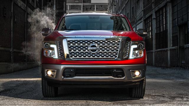 2017 Nissan Texas Titan Pickup Truck Exterior