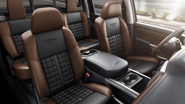 2017 Nissan Texas Titan Pickup Truck Interior