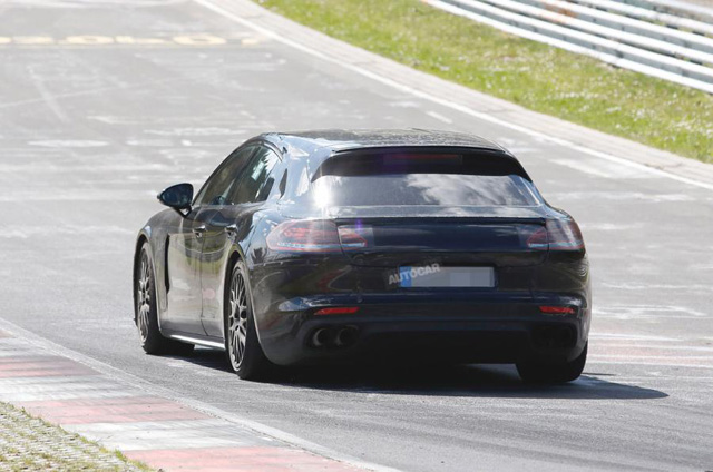 2017 Porsche Panamera Sport Turismo spy photos