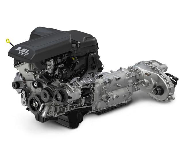 2017 RAM 1500 REBEL Engine