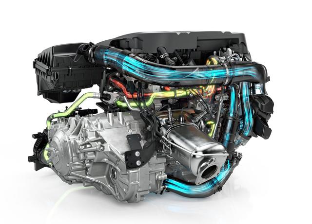 2017 Volvo V90 Cross Country Engine