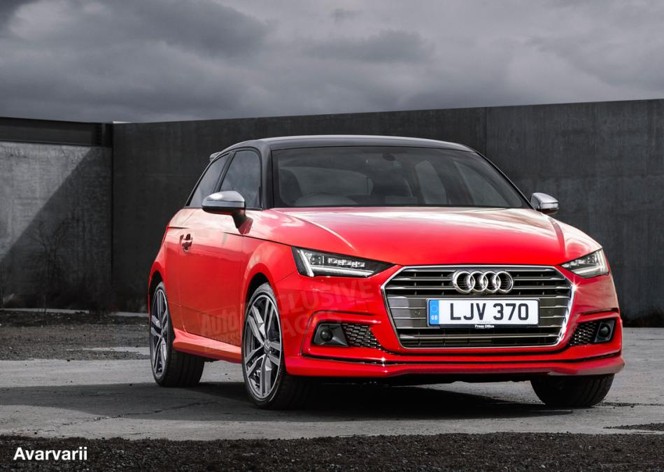 2018 Audi A1 design