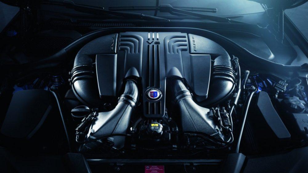 2018 BMW Alpina B5 Engine