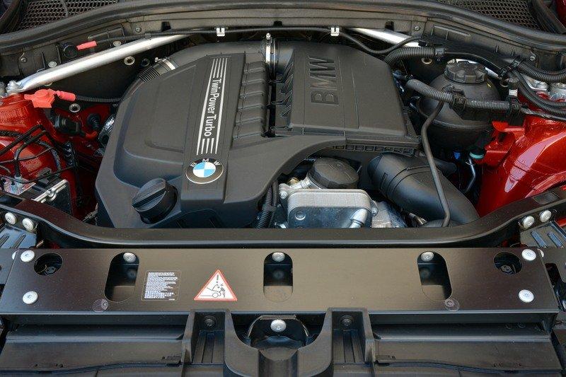 2018 BMW X4 engine