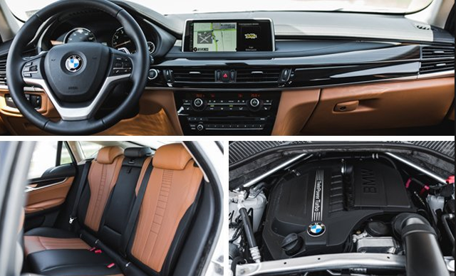 Năm 2018 BMW X6 Nội thất
