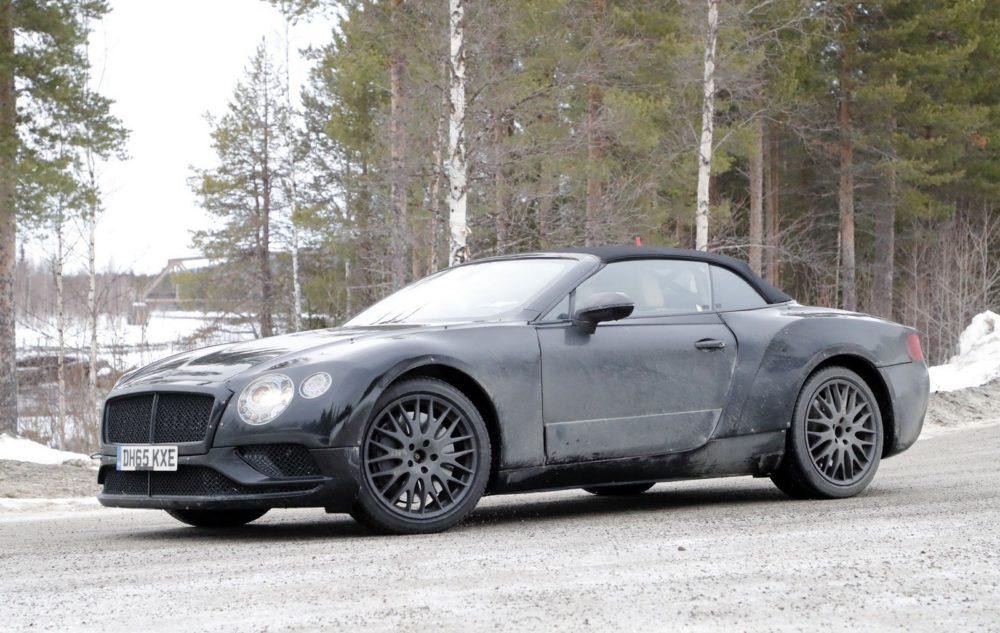 2018 Bentley Continental GTC Design