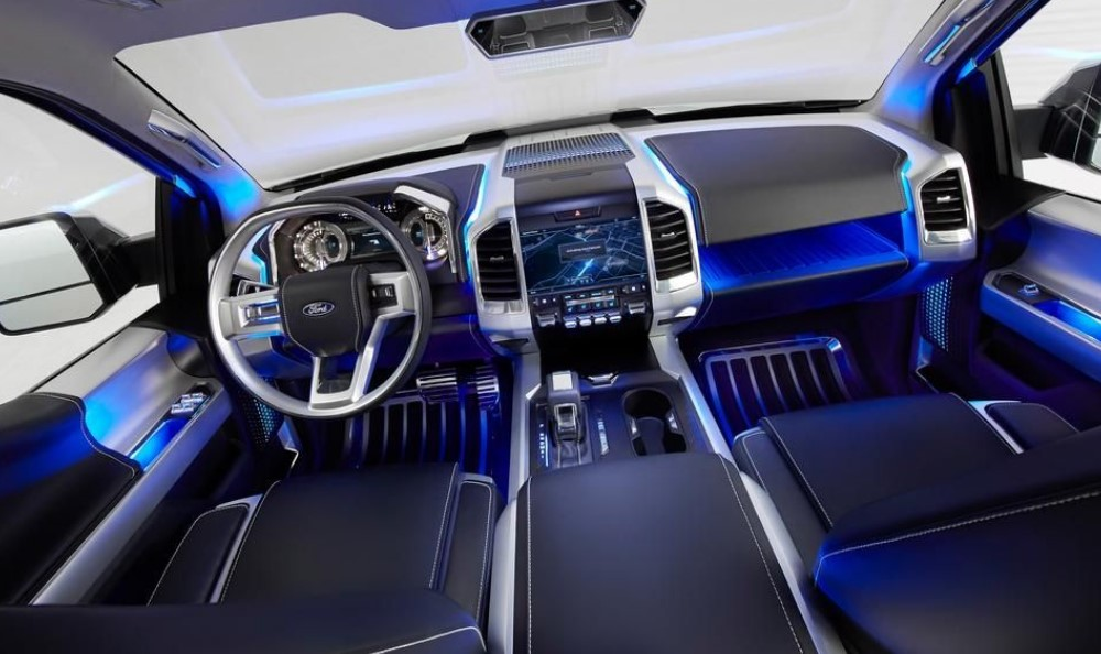2018 Ford Atlas Interior