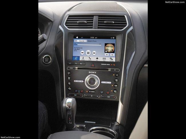 2018 Ford Explorer Sport interior