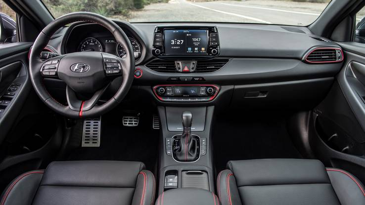 2018 Elantra GT interior