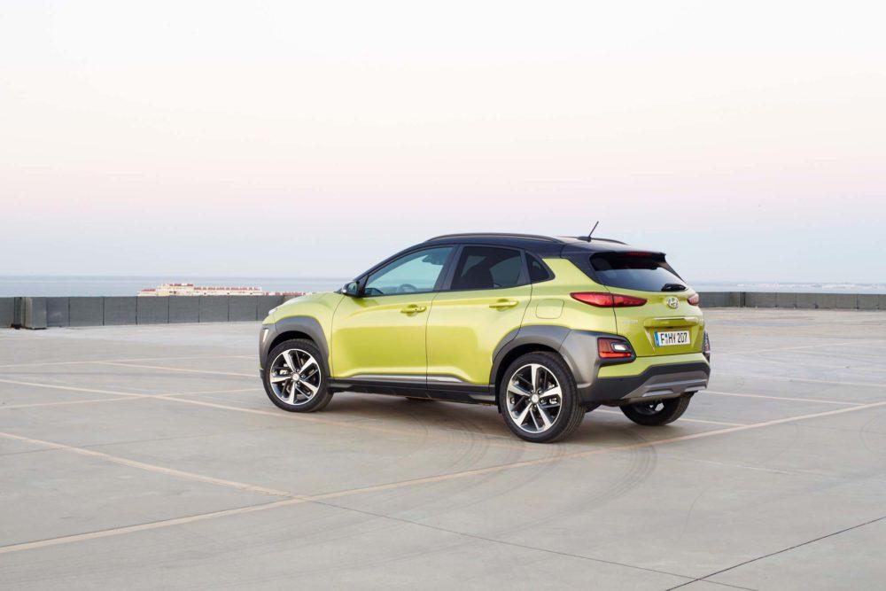 2018 Hyundai Kona design