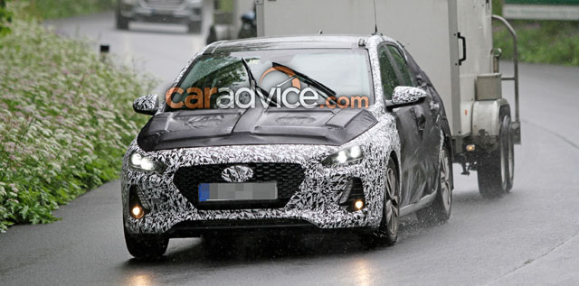 2018 Hyundai i30 Wagon Spy photos