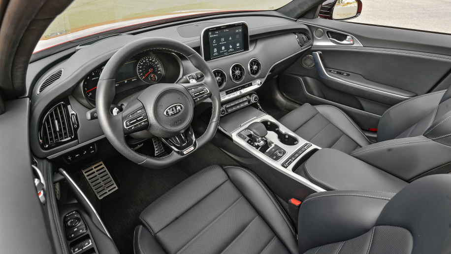 2018 Kia Stinger GT Interior