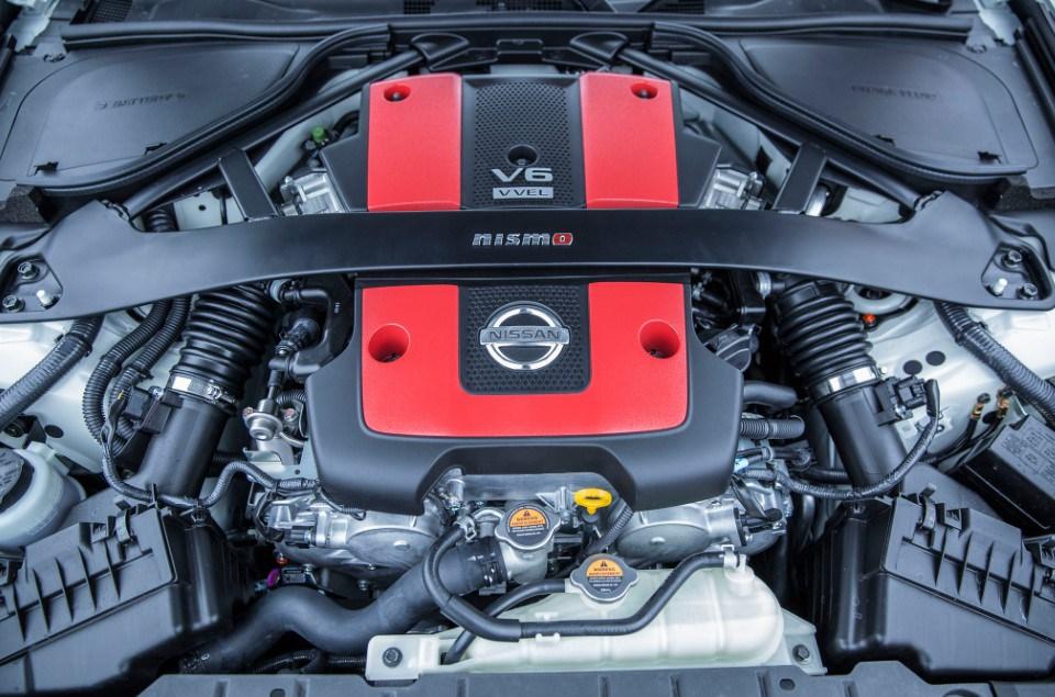 2018 Nissan Z35 engine