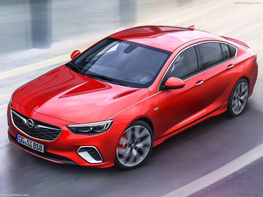 2018 Opel Insignia GSi design