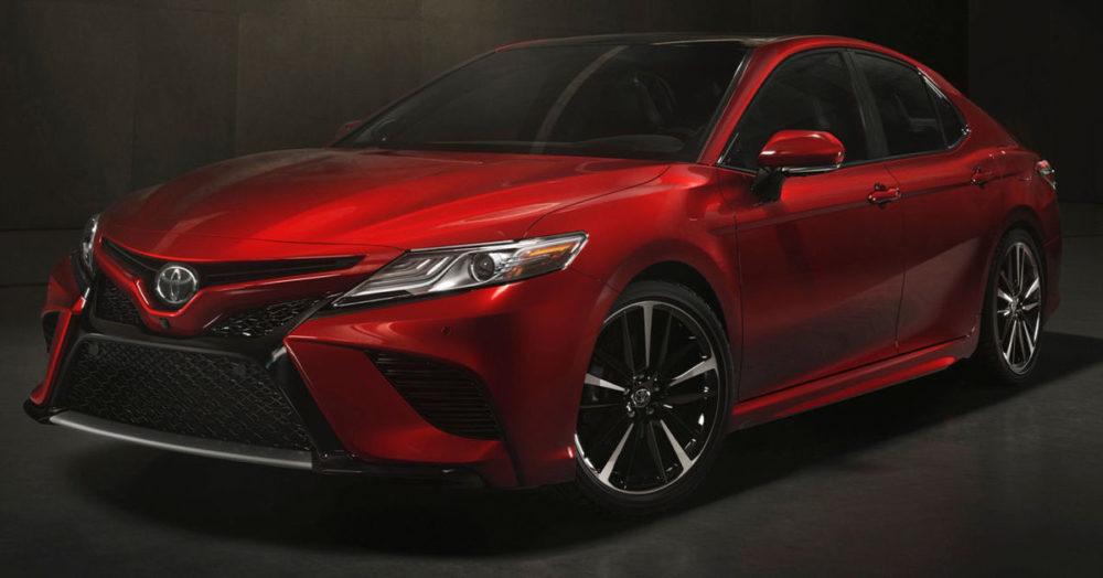 2017 Toyota Camry Hood Upcomingcarshq Com