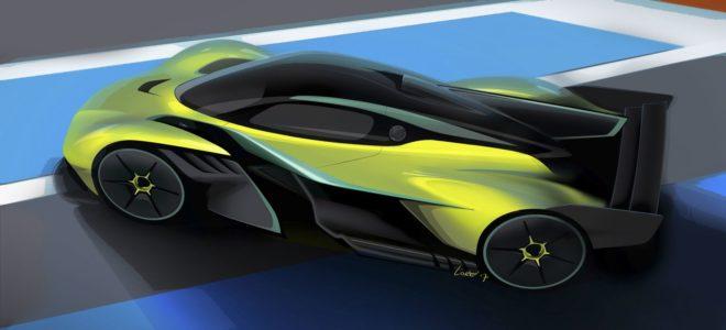 2019 Aston Martin Valkyrie AMR PRO