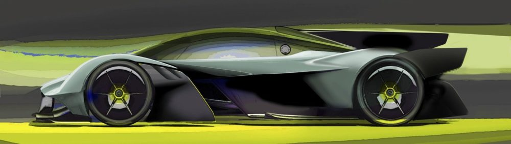 2019 Aston Martin Valkyrie AMR PRO Design