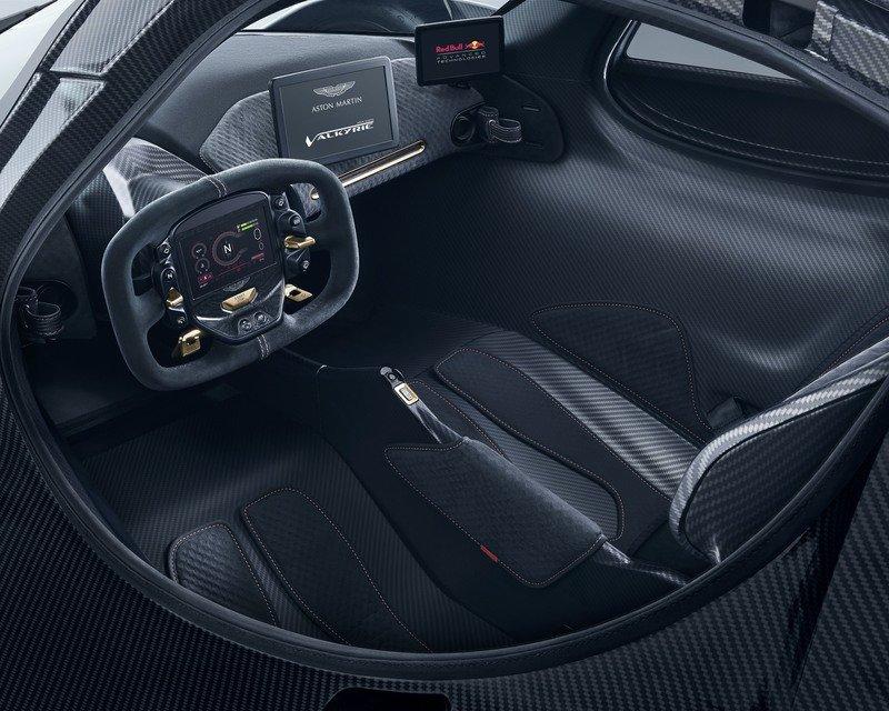 2019 Aston Martin Valkyrie AMR PRO Interior