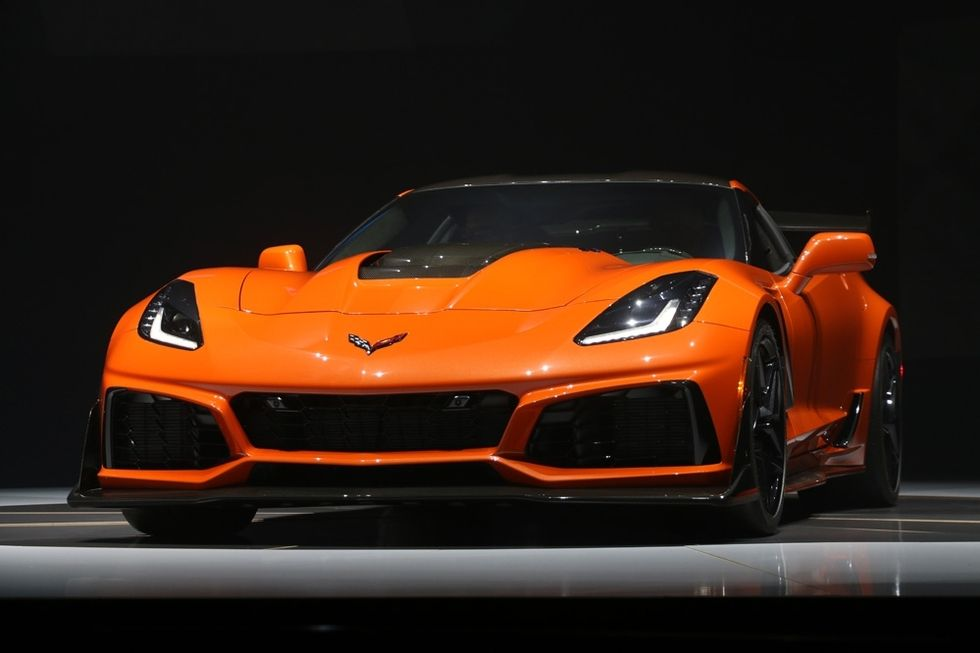 2019 Chevrolet Corvette ZR1 Price Specs Interior