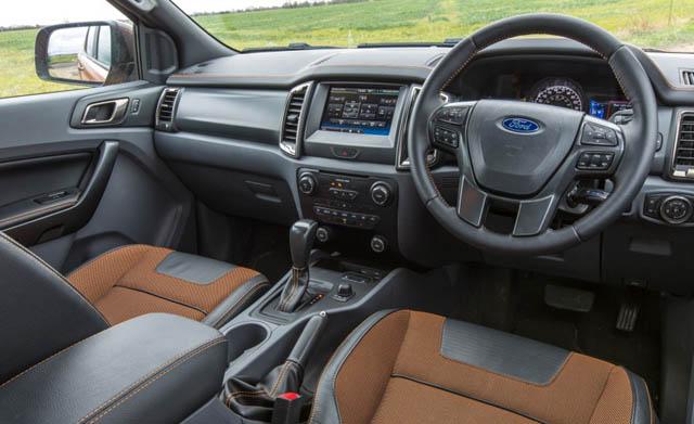 2019 Ford Ranger Pickup TRUCK Interior