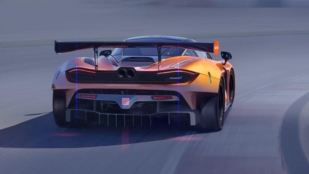 2019 McLaren 720S GT3 Design