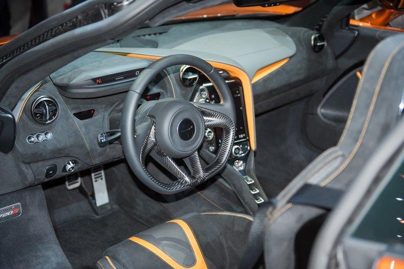 2019 McLaren 720S GT3 Interior