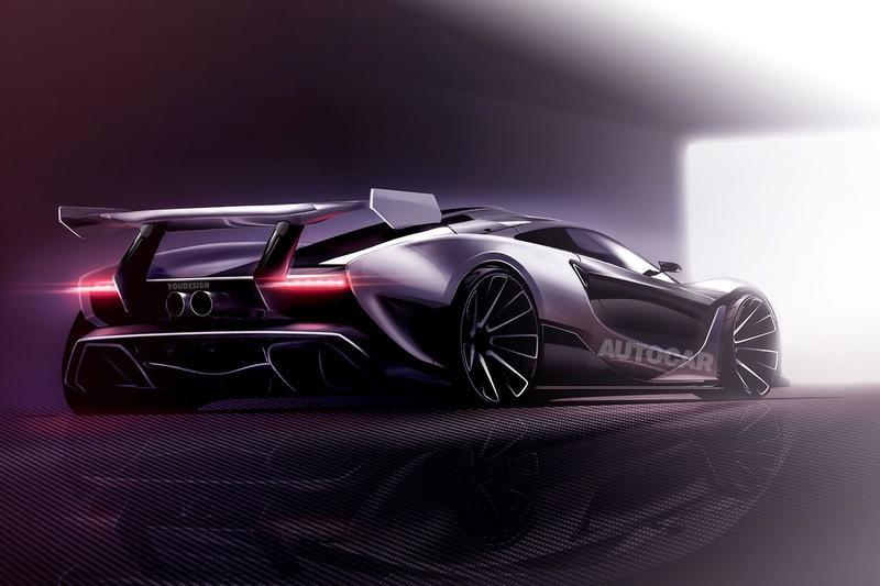 2019 McLaren P15 Design