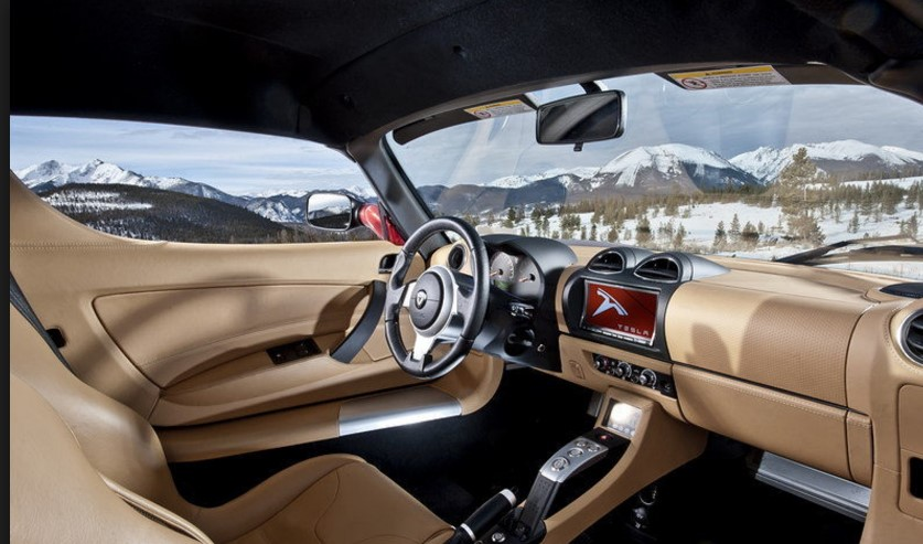 2019 Tesla Roadster interior
