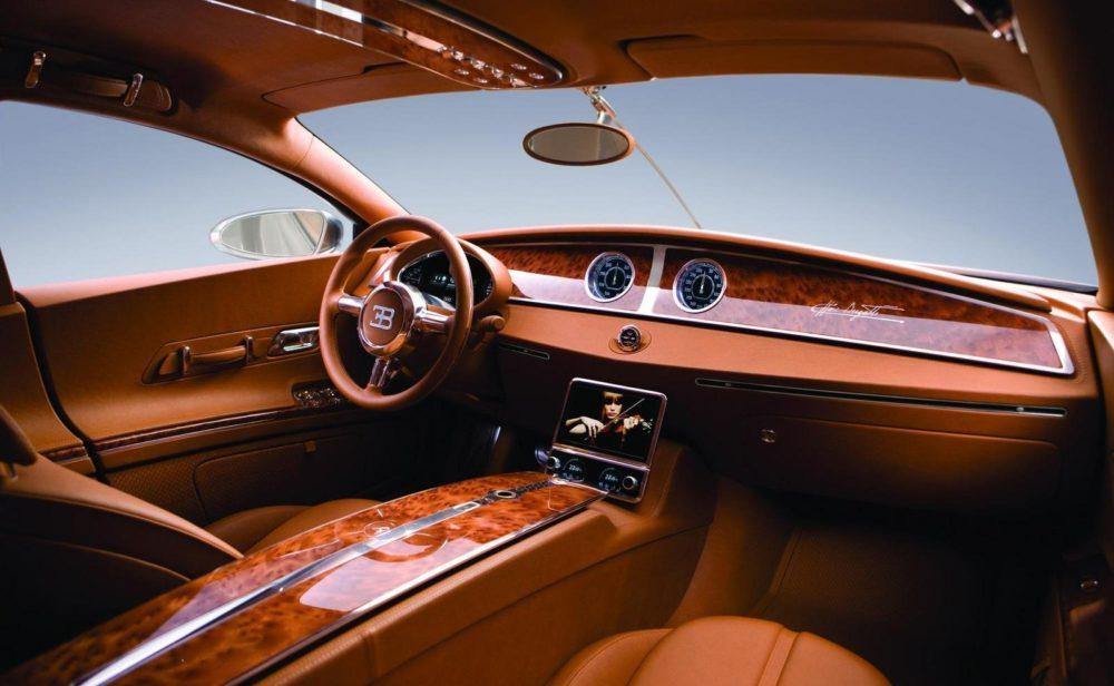 2020 Bugatti Galibier interior