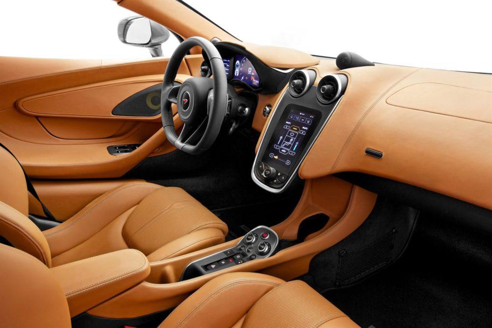 2020 McLaren SUV interior