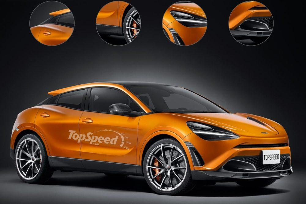 2020 McLaren SUV design