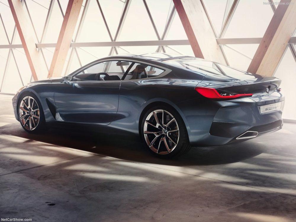 BMW 8 Series Concept design