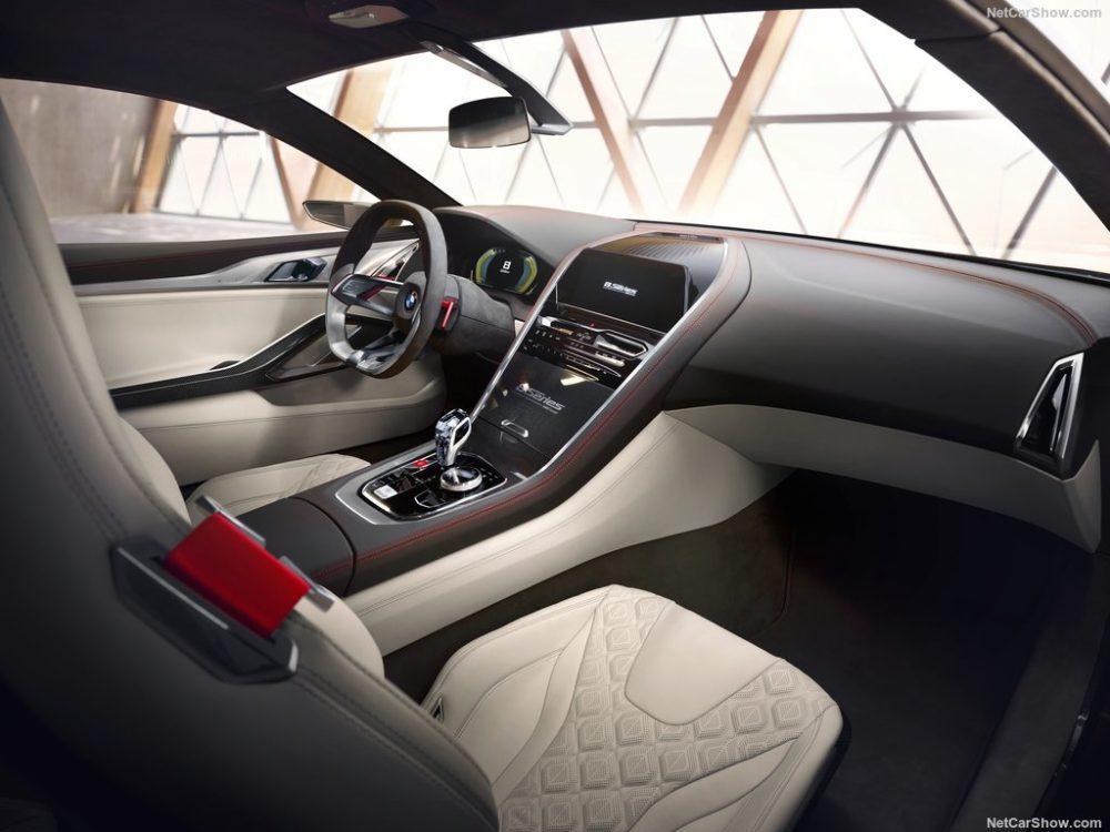 BMW 8 SBMW 8 Series Concept interiorries Concept interior