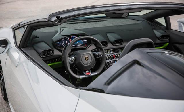 Lamborghini Huracan Spyder Interior