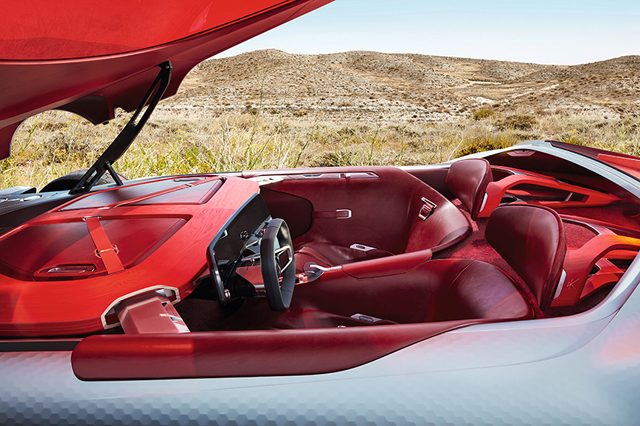 Renault Trezor Concept Interior