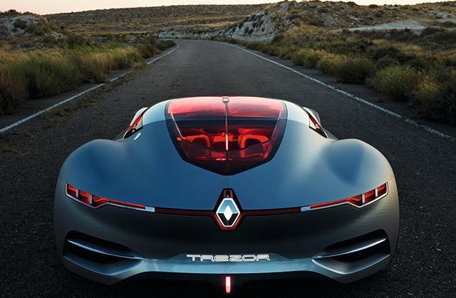 Renault Trezor Concept Engine